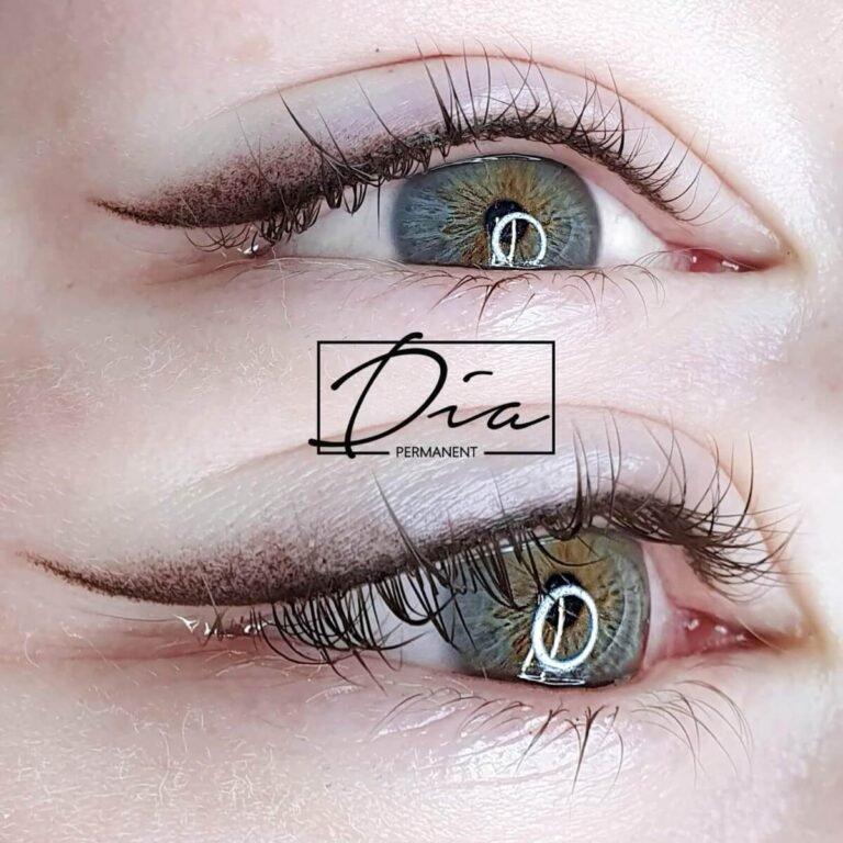 Akių linija su šešėliu - permanentinis makiažas antra fotografija